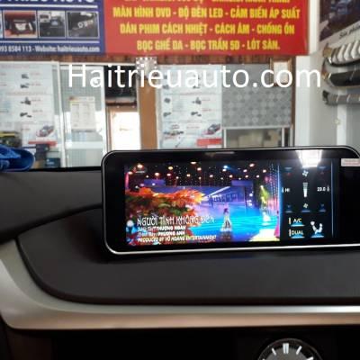 màn hình android theo xe lexus rx 300 2019
