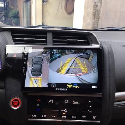 màn hình android zestech theo xe honda jazz