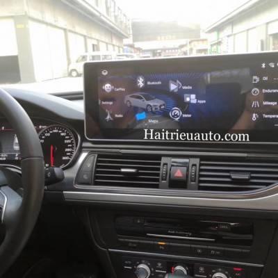 Màn hình android cho xe Audi A6 2015