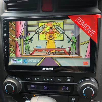 màn hình android zestech theo xe honda CRV 2010