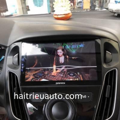 màn hình android zestech theo xe focus