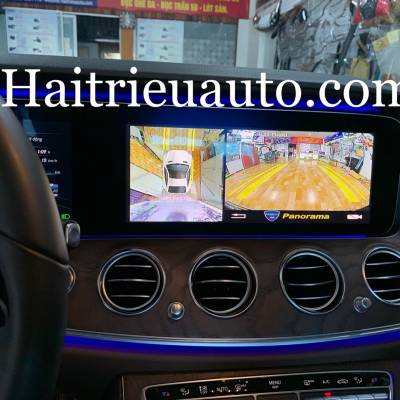 Camera 360 panorama cho xe Mercedes