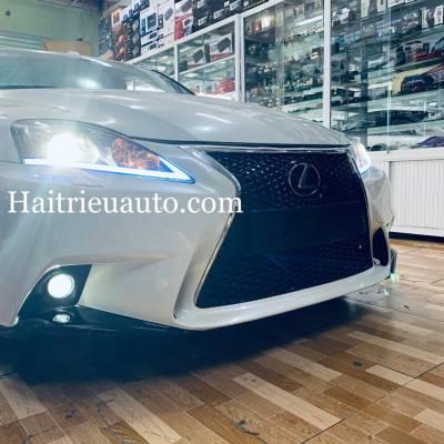 Độ đèn cho xe Lexus IS250