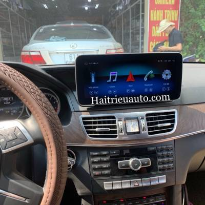 Màn hinh android theo xe Mercedes E200 2015