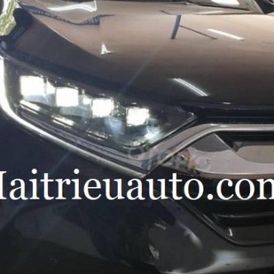 đèn pha độ xe honda CRV