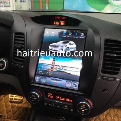màn hình Tesla cho xe kia K3
