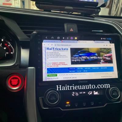 màn hình android Ownice theo xe Honda Civic