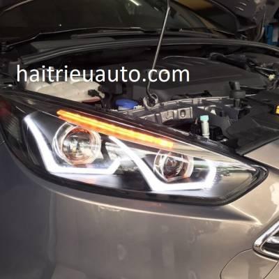bộ đèn pha độ nguyên bộ xe focus 2017