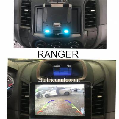 Màn hình android Pioneer cho xe Ford Ranger