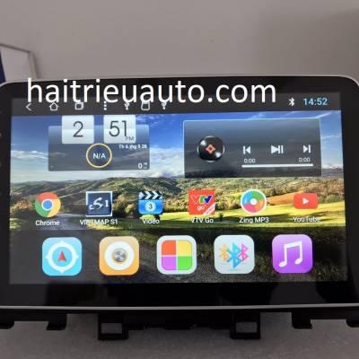 màn hình android theo xe Hyundai Kona
