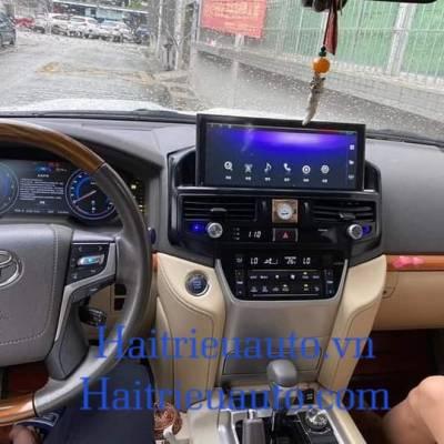 màn hình android theo xe land cruiser