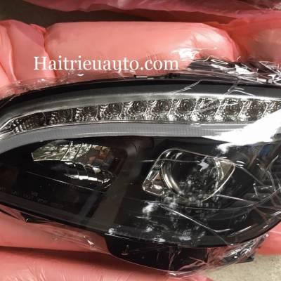 bộ đèn pha độ xe Mercedes C200
