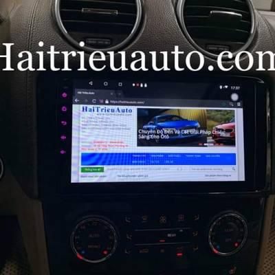 Màn hình android theo xe Mercedes ML 350