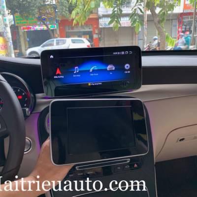 màn hình android theo xe mercedes GLC 300