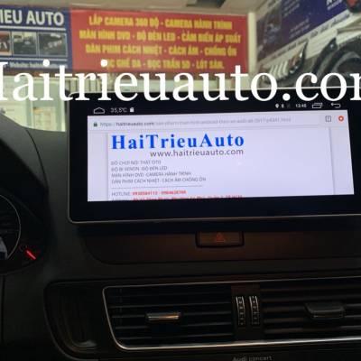 màn hình android theo xe audi Q5