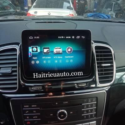 Màn hình android theo xe Mercedes GLS 500