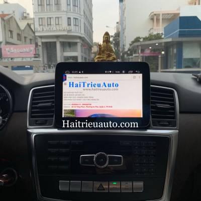 Màn hình android theo xe Mercedes ML 400