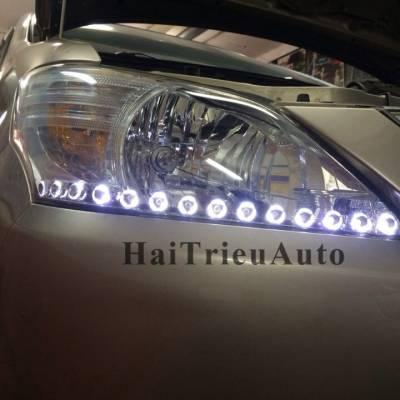 Đèn pha độ led cho xe innova