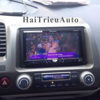 Dvd pioneer lắp cho xe honda civic