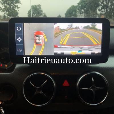 LẮP CAMERA 360 cho xe Mercedes GLK