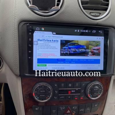 Màn hình android theo xe Mercedes GL 320