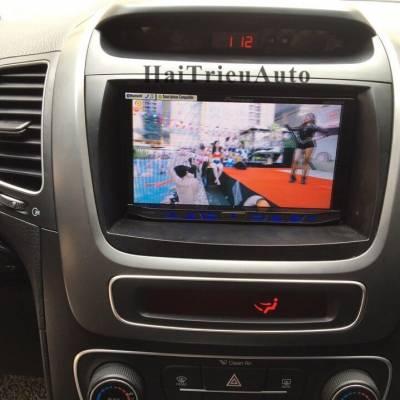 Màn hình dvd pioneer lắp cho xe sorento