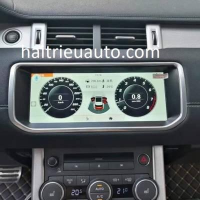 màn hình android theo xe landrover evoque