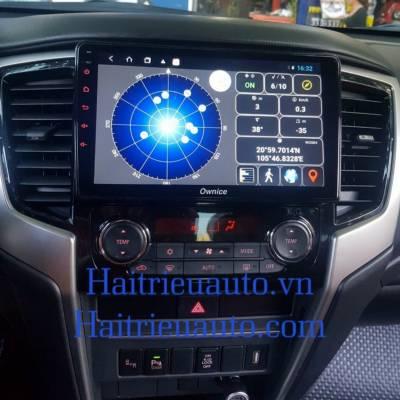 màn hình android Ownice theo xe Triton