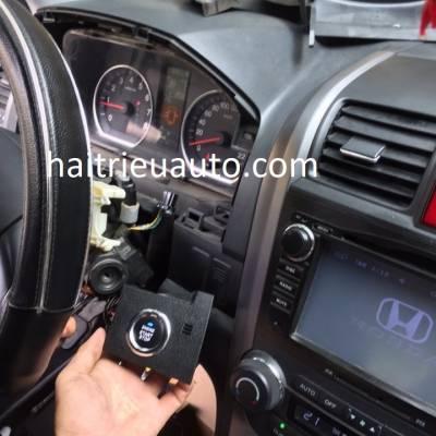 lắp startstop smartkey cho xe honda CRV