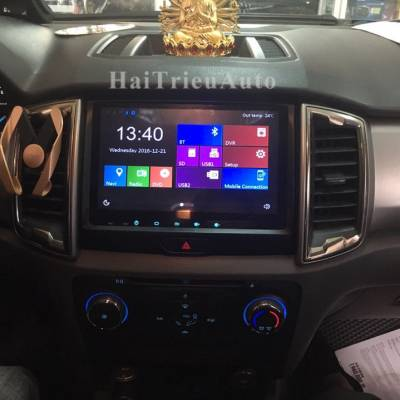 DVD ANDROID cho xe FORD RANGER 2016