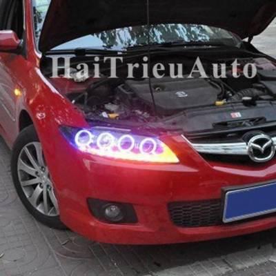 Đèn pha độ cho xe mazda6 2010