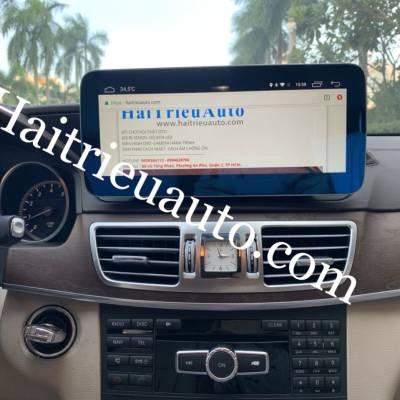 màn hình android xe mercedes E 300