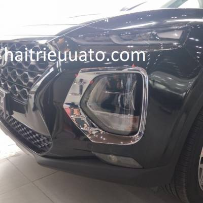 ốp đèn gầm xe Hyundai Santafe 2019
