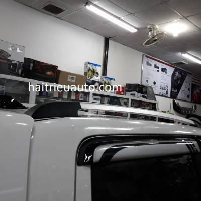 thanh giá nóc cao cho xe navara 2017