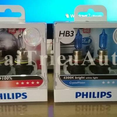 Bóng philips HB3 tăng độ sáng