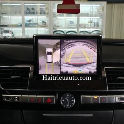 Camera 360 cho xe Audi A8L