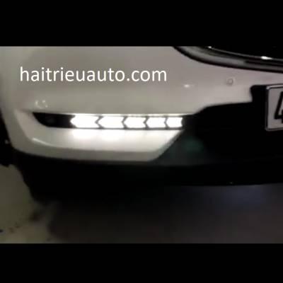 đèn led gầm theo xe mazda cx5 2018