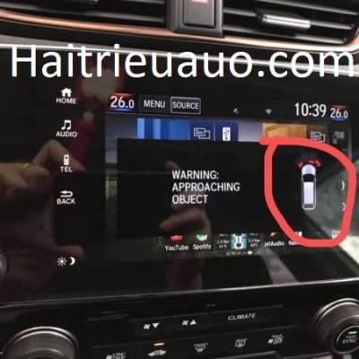 cảm biến trước xe honda CRV