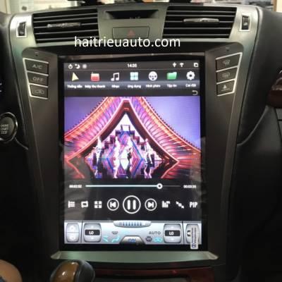 màn hình android tesla xe lexus LS 600