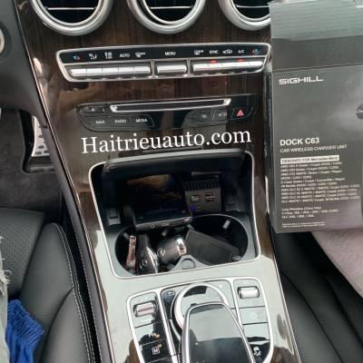 Sạc không dây theo xe Mercedes GLC