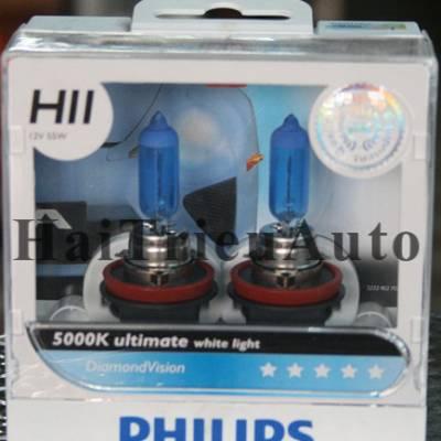 Bóng philips H11 tăng độ sáng