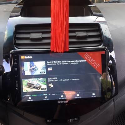 màn hình android Zestech theo xe Spark