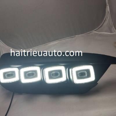 đèn gầm civic 2018 kiểu Bugatti