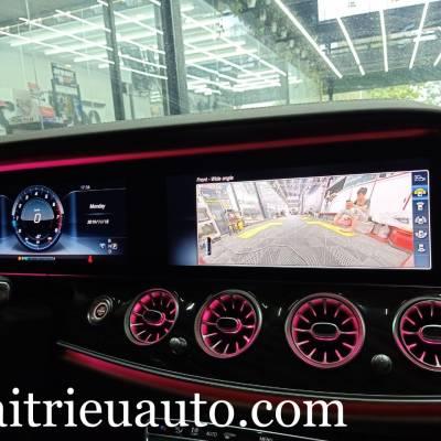 Camera 360 theo xe Mercedes E300