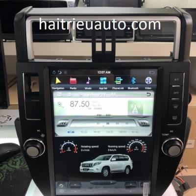 Màn hình tesla theo xe Toyota Land Cruiser Prado 2010-2013