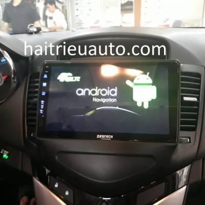màn hình android zestech theo xe cruze