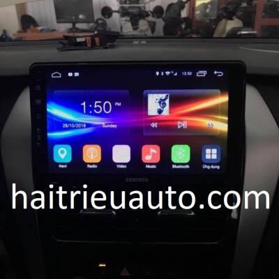 màn hình android zestech theo xe vios