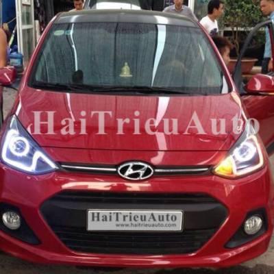 Hyundai I10 độ đèn cực ngầu
