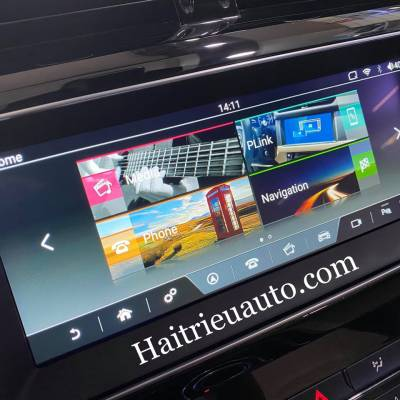 Màn hình android theo xe Jaguar XE