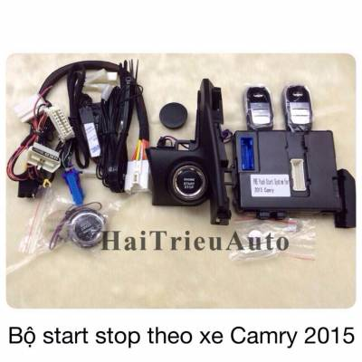 Bộ start stop theo xe Camry 2015